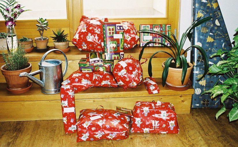 Vánoční dárky dětem